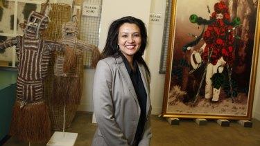 Suhanya Raffel at the Queensland Art Gallery Gallery of Modern Art's 2012 Asia-Pacific Triennial.