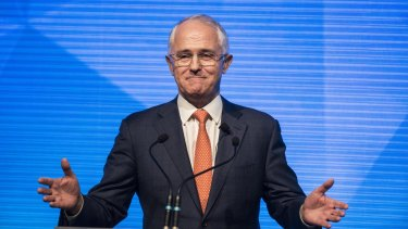 """""""Prime Minister Turnbull insists that his $48 billion tax cut will trickle down to supercharge the economy,"""" said GetUp director Paul Oosting."""