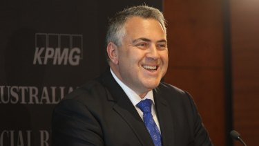 Treasurer Joe Hockey, pictured at the National Reform Summit in Sydney on Wednesday, will co-chair a new parliamentary group to build support for an Australian republic.