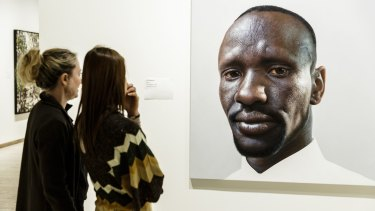 <i>Deng</I> by Nick Stathopoulos is a finalist in the Archibald prize.
