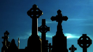 """Families are being left bereft by """"redeveloped"""" graves."""