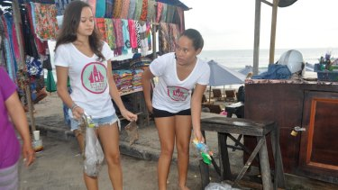 Balinese sisters Melati and Isabel Wijsen.