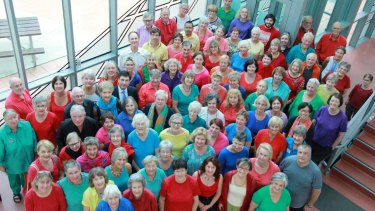 The Canberra Choral Society Massed Choir.