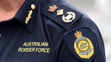 One current and one former Australian Border Force officer were arrested this week.