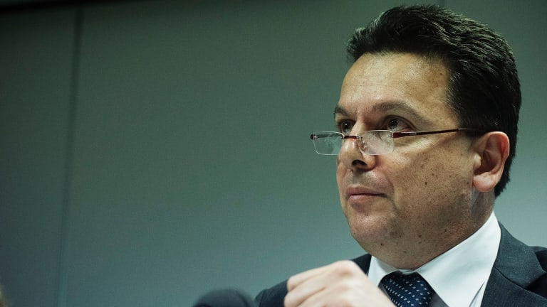 Senator Nick Xenophon urged the committee to consider a $1 limit per spin, as recommended by the Productivity Commission.