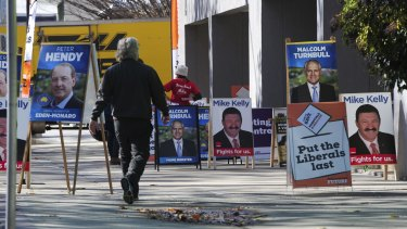 Pre-poll voting has increased from around 775,000 in 2013 to 1.16 million at close of business on Saturday.