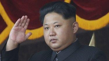 North Korean dictator Kim Jong-un.
