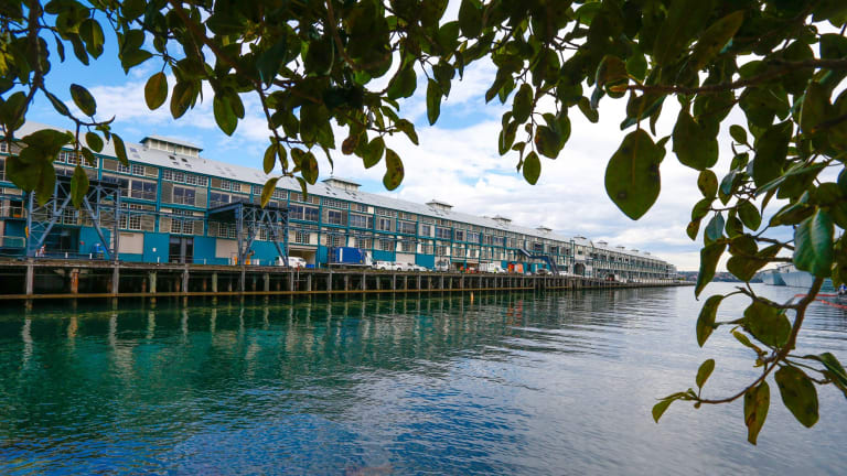 The Finger Wharf at Woolloomooloo, which is home to the Ovolo Hotel.