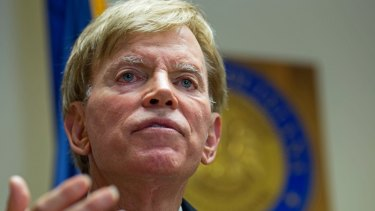 Former Ku Klux Klan leader David Duke endorsed Donald Trump.