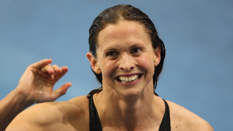 """""""I didn't find it offensive to be called a girl while I was swimming,"""" four-time Olympic gold medallist Libby Trickett told SBS."""