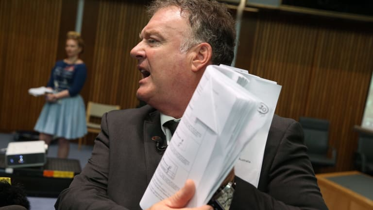 One Nation senator Rod Culleton makes the case for a royal commission into Australia's banks.