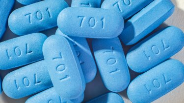 The pills used for HIV Pre-Exposure Prophylaxis (PrEP).
