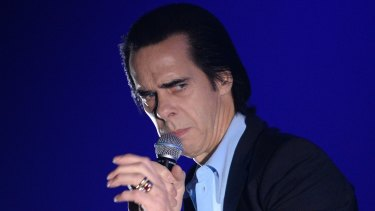 Nick Cave: He and his band The Bad Seeds defied calls to boycott the country.