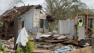 Many communities in Vanuatu have been unable to recover almost a year after Cyclone Pam caused widespread destruction in March 2015.