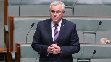 Tasmanian independent MP Andrew Wilkie.