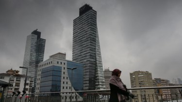 Trump Towers in Sisli, a district of Istanbul, Turkey, opened in 2012.