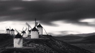 <i>Quixote's Giants, Study 10, Consuegra, Spain</I>. 1996.