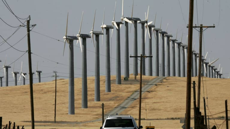 Wind and solar energy continues to fall in cost.