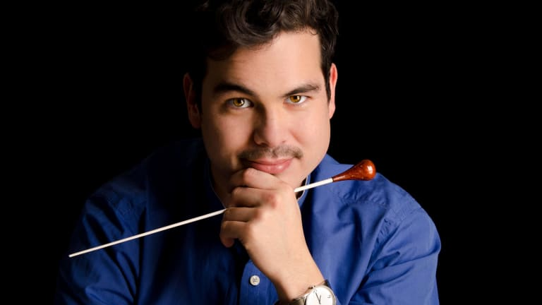 Conductor Dane Lam.