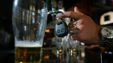 A government report has revealed the link between drink driving and road accidents.
