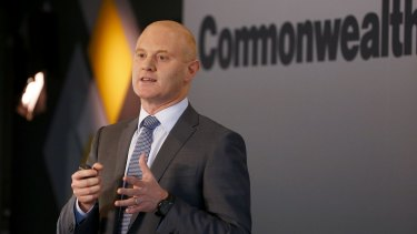 CBA chief Ian Narev received $12.3 million in total pay last financial year.