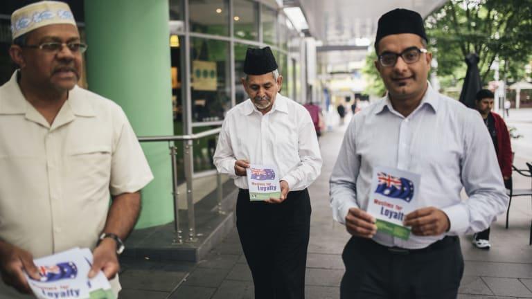 Mohammad Hasan, Imam Masood Ahmad Shahid and Kamran Ahmed will help hand out the leaflets.
