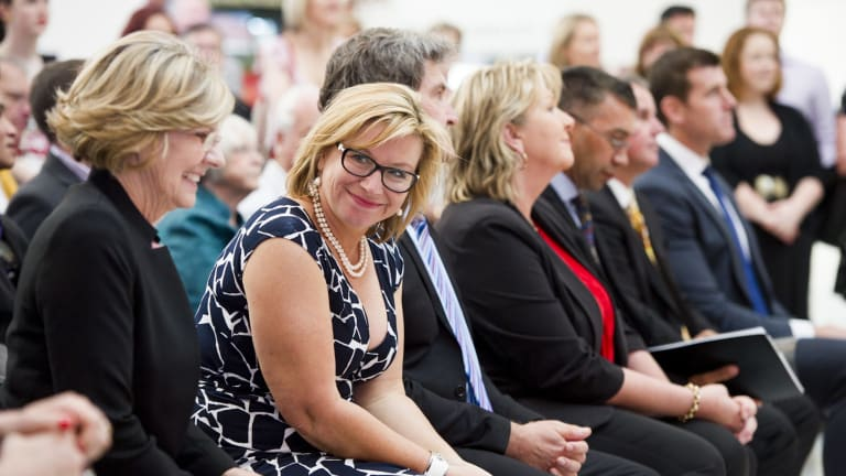 Rosie Batty at the Australian of the Year awards exhibition.