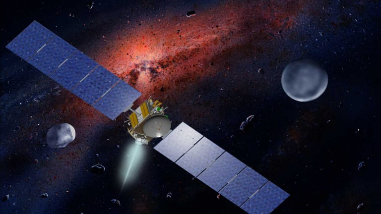 Space based industries could be less than two decades away.