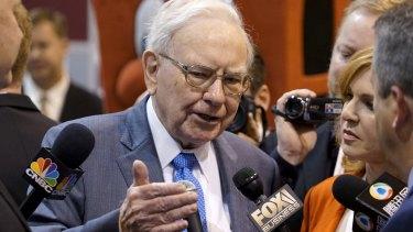 Warren Buffett is helping to finance the nuclear fuel bank.