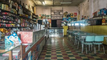 The stock was left in the Olympia Milk Bar in Stanmore when it was shut in November.