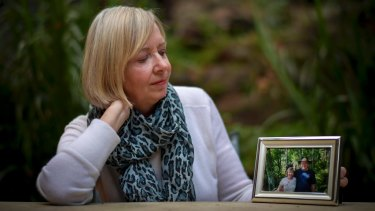 Jayne Francis, whose husband died from dementia a few years ago.