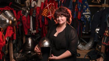 Chantelle Gerrard developed her skills through making costumes for herself.
