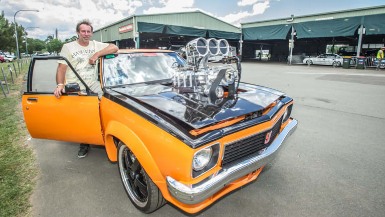 Anthony Brakel of Nowra finished working on his LX Torana on Tuesday night to exhibit it for the first time.