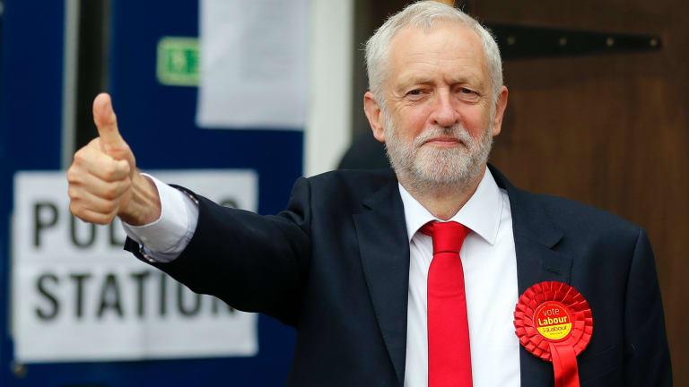 Britain's Labour party leader Jeremy Corbyn.