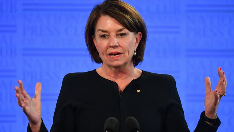 Australian Bankers Association chief executive Anna Bligh said she agreed with Mr Costello's comments on pay