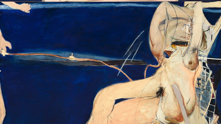 Brett Whiteley, Christie and Hectorina McLennan, 1964-65 (detail).