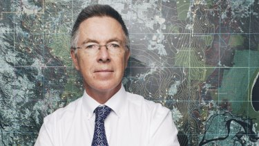 Metgasco CEO Peter Henderson:  expects police protection for the Northern Rivers project.