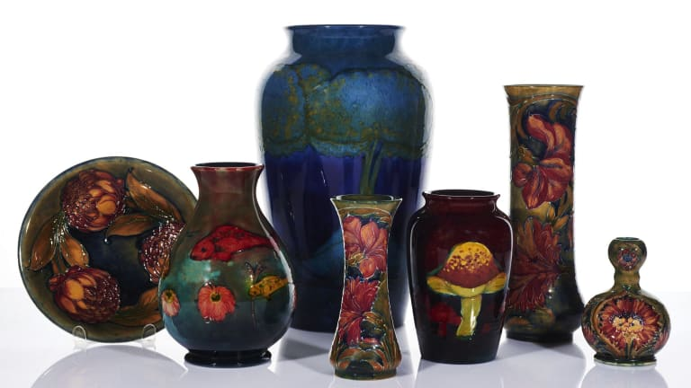 Auction Should Show What Moorcroft Pottery Is Really Worth These Days