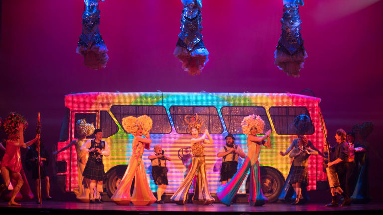 Priscilla Queen of the Desert The Musical opens in Melbourne in January.