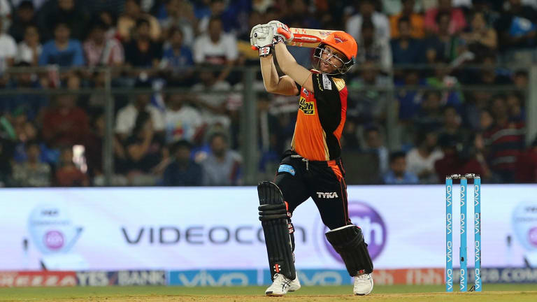 Standing firm: David Warner is one of several top Australian players that Cricket Australia would like to skip the IPL.