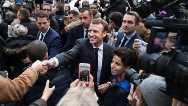 The new confidence seems to stem from one man: President Emmanuel Macron.