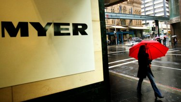 Myer will have 63 stores once these stores close.