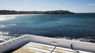 The Bondi Icebergs swimming pool gets a clean last week.