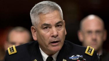 General John Campbell, the top American commander in Afghanistan, in October.