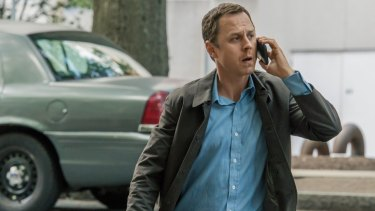 Giovanni Ribisi as Marius/Pete in the Amazon Prime Video series <i>Sneaky Pete</i>.