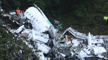 Just six people survived the plane crash.