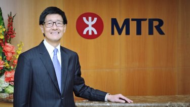 MTR chief executive Lincoln Leong said the company wants to strengthen its foothold in Australia.