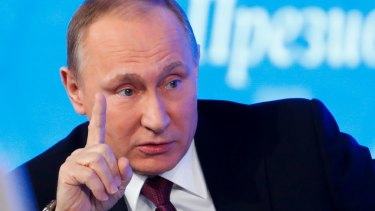 Why do Americans tolerate Russian influence in their election? Russian President Vladimir Putin.