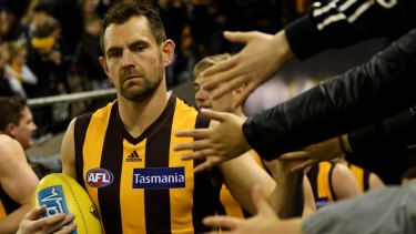 The impending arrival of Hawks great Luke Hodge at the Lions has created a buzz.
