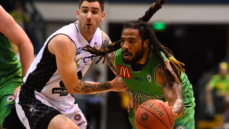 Star import: Townsville point guard Jordair Jett.